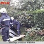 FF Pettendorf: Fahrzeugbergung in Gaisruck 3
