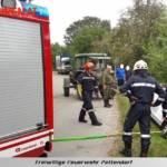 FF Pettendorf: Fahrzeugbergung in Gaisruck 4