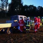 FF Andorf: Schwerer Verkehrsunfall mit drei Verletzten 1