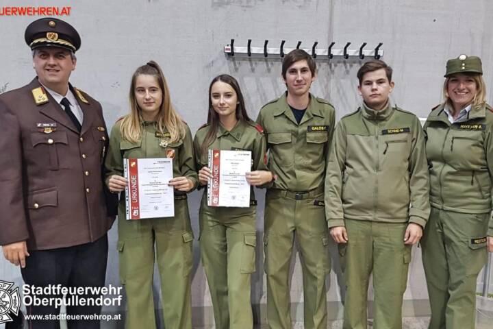 STF Oberpullendorf: Gold für die Feuerwehrjugend 1