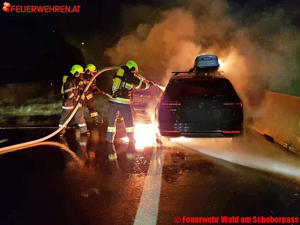 Feuerwehr Wald am Schoberpass