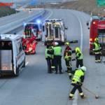FF Gaweinstal: Fahrzeugbergung auf der A5 7