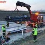 FF Gaweinstal: Fahrzeugbergung auf der A5 8