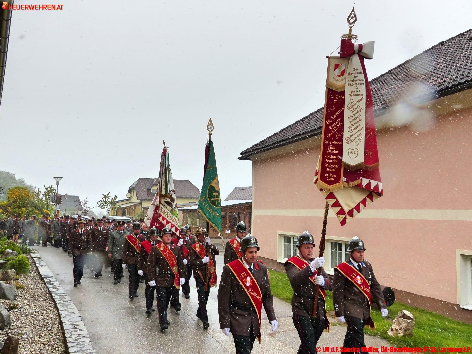 LM d.F. Sandra Müller, ÖA-Beauftragte FF St. Lorenzen i.P.