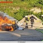 BF Wien: Großflächiger Dachbrand fordert Berufsfeuerwehr 1