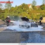 FF Pettendorf:  Übung gemeinsam mit der FF Gaisruck 10