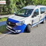 FF Langwies: Verkehrsunfall auf der B145 2