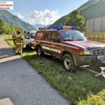 FF Langwies: Verkehrsunfall auf der B145 4