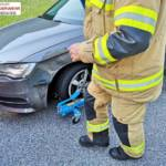 FF Langwies: Verkehrsunfall auf der B145 6