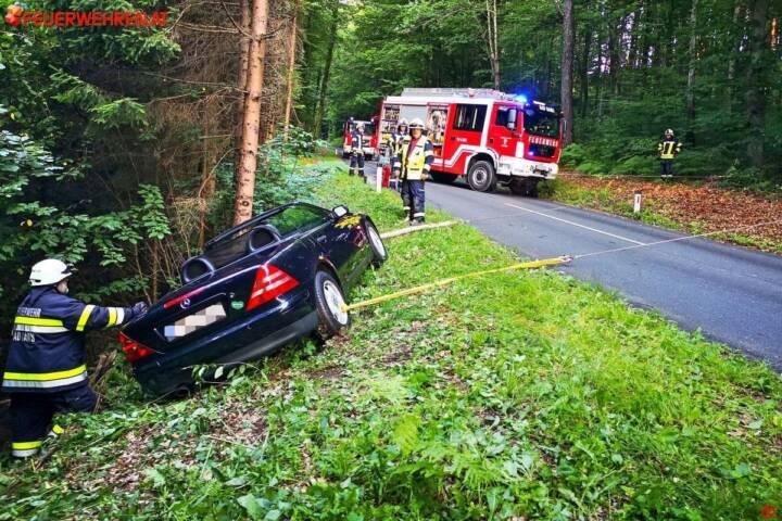 BFV Deutschlandsberg: Verkehrsunfall in Bad Gams 1