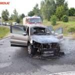 FF Gaweinstal: Fahrzeugbrand B7 / A5 11