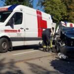 FF Statzendorf: Fahrzeugbergung an der L100 1
