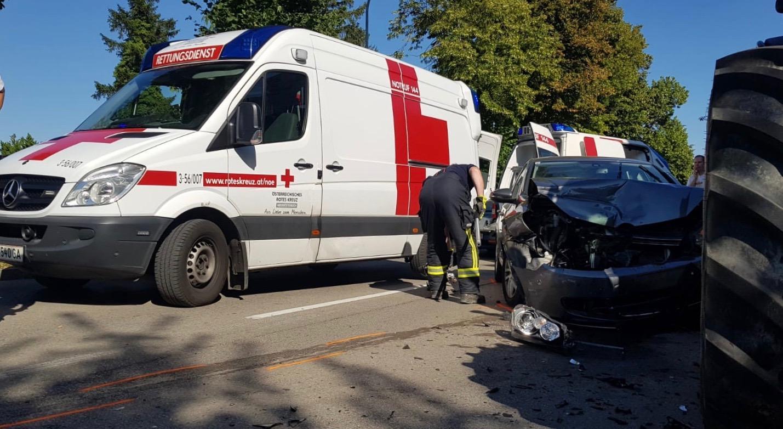 Fahrzeugbergung nach Verkehrsunfall 1