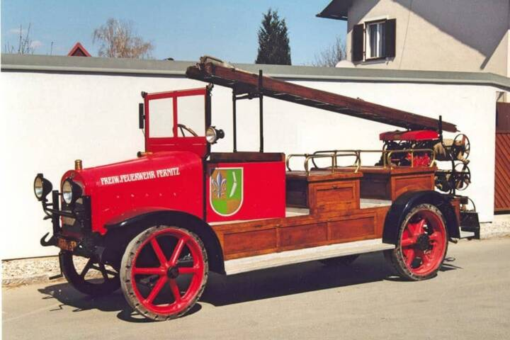 Zertifikat für das Historische Feuerwehr-Automobil
