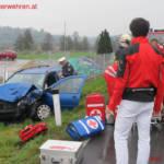 Schwerer Verkehrsunfall in Pitschgau