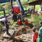 FF Steinberg-Rohrbach: Kuh in Misthaufen versunken 5