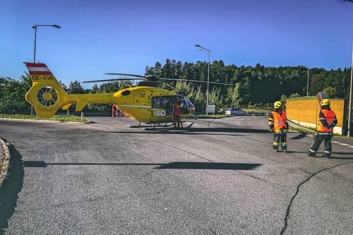 Verkehrsunfall auf der B76 - Mopedfahrer verletzt