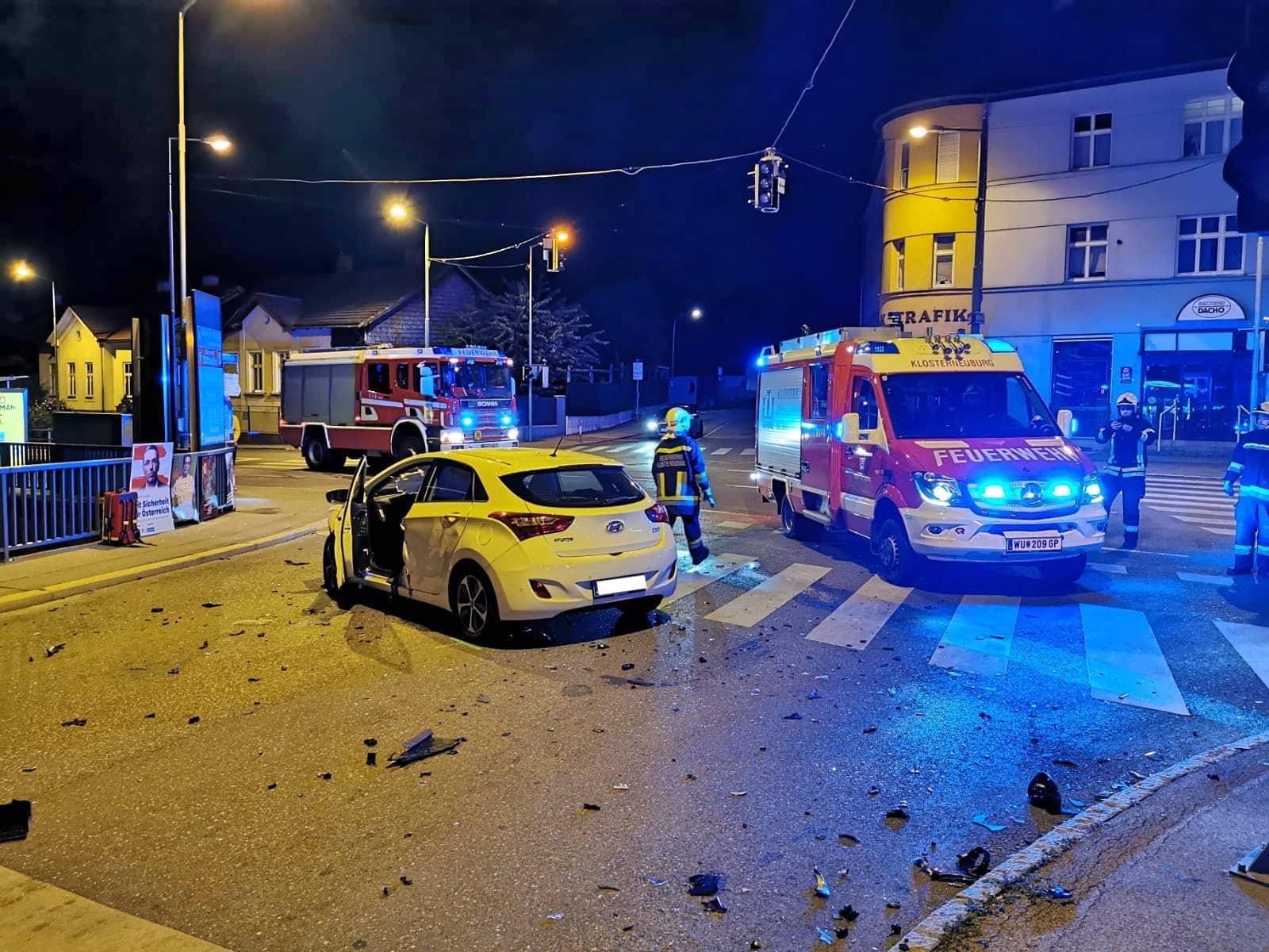 Verkehrsunfall - PKW vs PKW