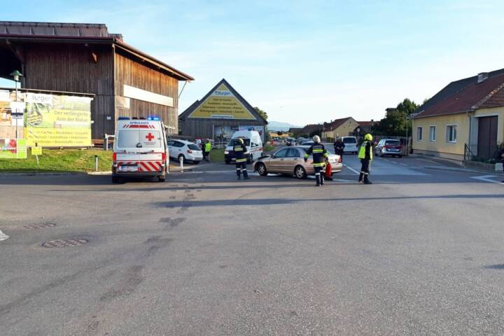 Verkehrsunfall in Rottersdorf