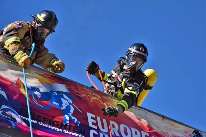Hagenbergs Firefigher bei der Europameisterschaft am Start