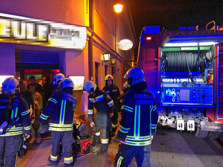 Küchenbrand im Stadtgebiet
