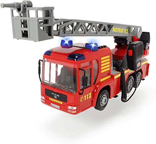 Dickie Toys - Fire Hero, Feuerwehrauto inklusive Batterien