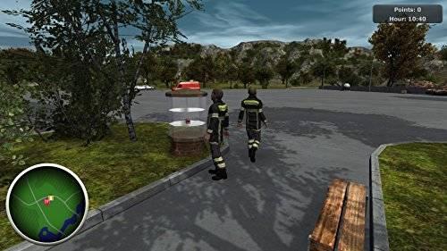 Berufsfeuerwehr Simulation
