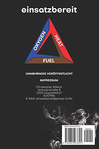 Feuerwehr Notizbuch Eins: Dein Notizbuch im Feuerwehrdesign 1