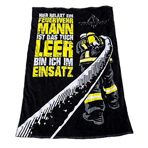 Badetuch Feuerwehrmann Fire & Fight Streetwear