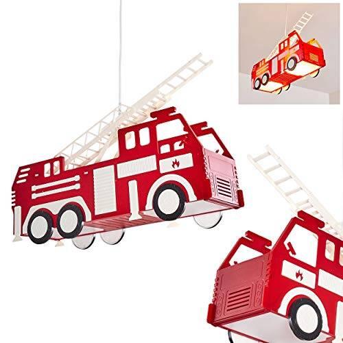 Feuerwehr Auto Hängeleuchte für Kinderzimmer 1
