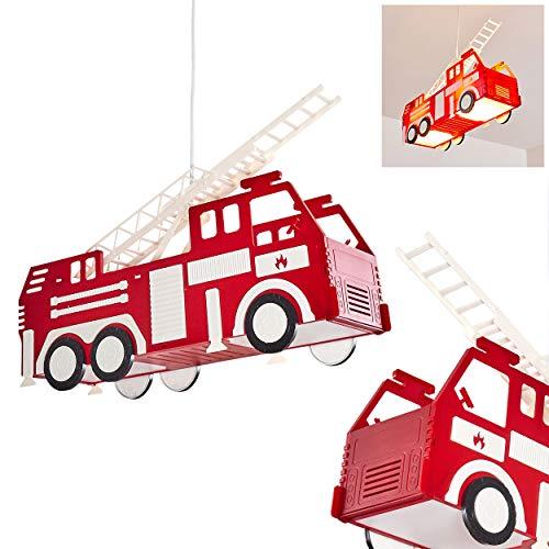 Feuerwehr Auto Hängeleuchte für Kinderzimmer