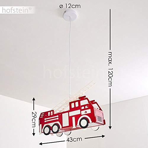 Feuerwehr Auto Hängeleuchte für Kinderzimmer 3