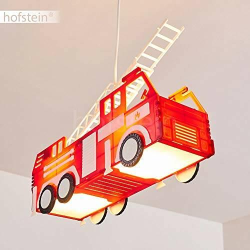 Feuerwehr Auto Hängeleuchte für Kinderzimmer 4