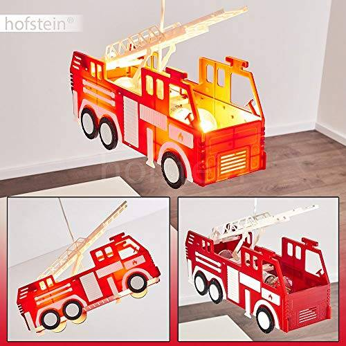 Feuerwehr Auto Hängeleuchte für Kinderzimmer 6