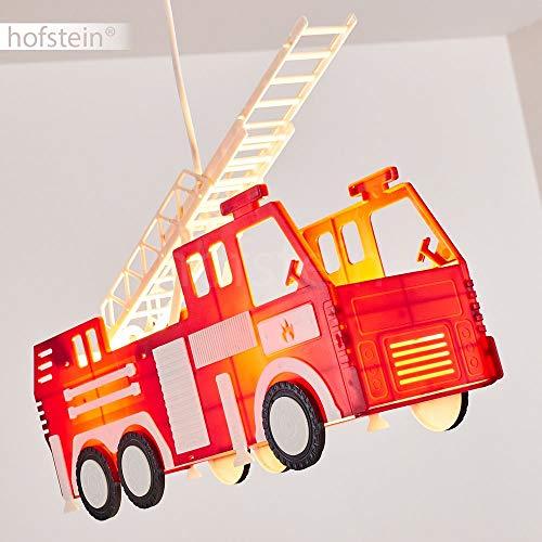 Feuerwehr Auto Hängeleuchte für Kinderzimmer 8