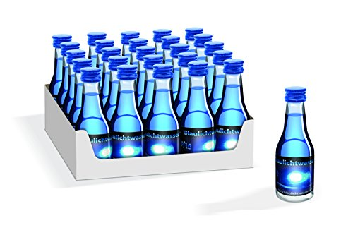 Blaulichtwasser für Blaulichtparty 20/16-25er-Tray