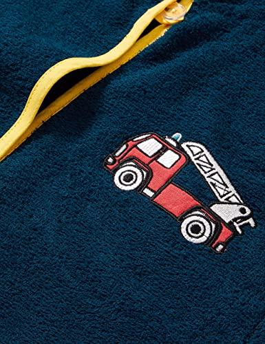 Kinder Frottee Bademantel - Feuerwehr 3