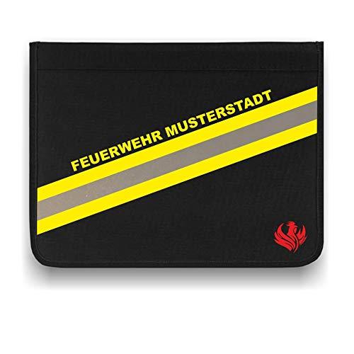 Personalisierbare Feuerwehr Schreibmappe - Organizer