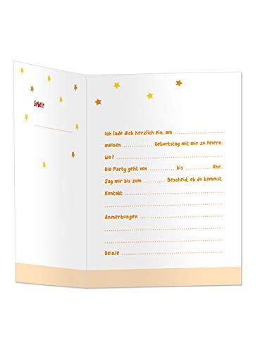 Feuerwehr-Geburtstag Einladungs Karten