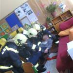 Alarmübung im Gröbminger Hauptschulzentrum