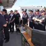 25 Grazer Feuerwehren üben gemeinsam