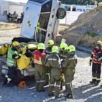 Die einzige Feuerwehr des Burgenlandes bei THL-Tagen in Oberösterreich
