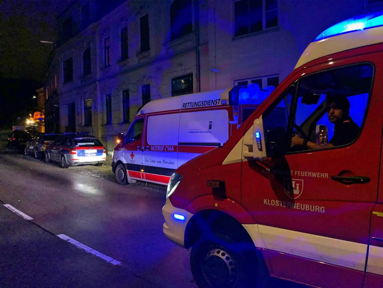 Person in Wohnung gestürzt - Türöffnung für das Rote Kreuz