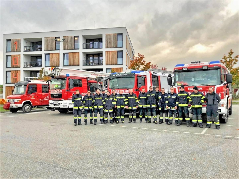Übung: 70 Feuerwehrmänner löschten Waldbrand