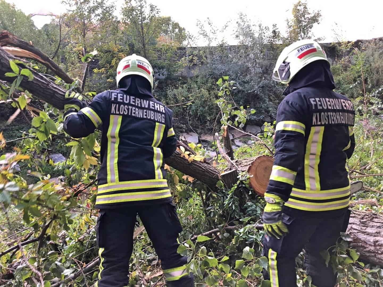 Mehrere Einsätze für die Feuerwehr Klosterneuburg