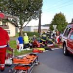 Schwerer Verkehrsunfall in Eibiswald fordert drei Verletzte