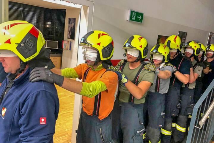 Feuerwehr Blindübung