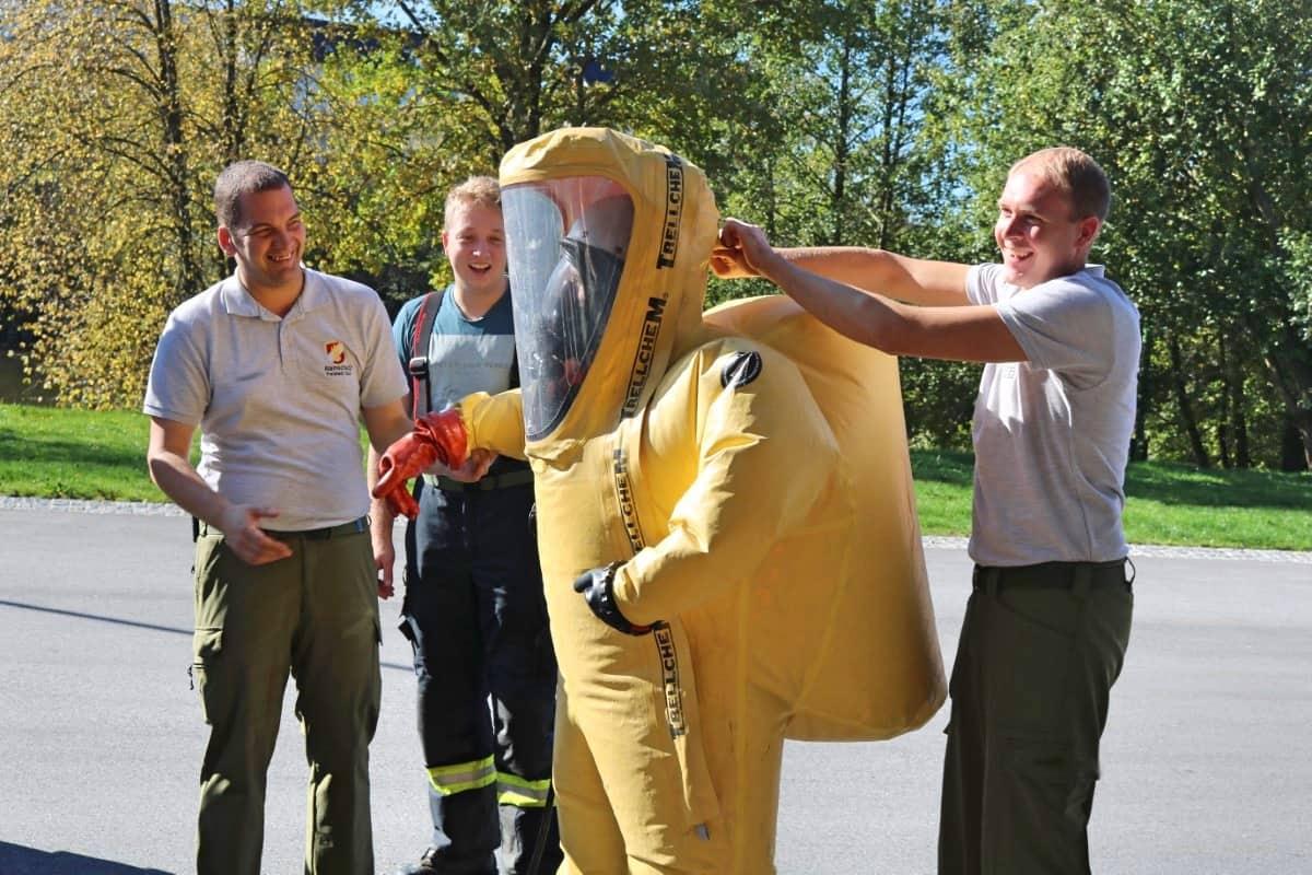Atemschutzgeräteträger-Lehrgang in Hagenberg