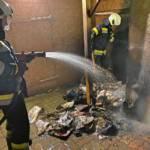 Mülltonnenbrand in Groß St. Florian