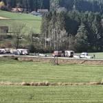 Verkehrsunfall auf der B76